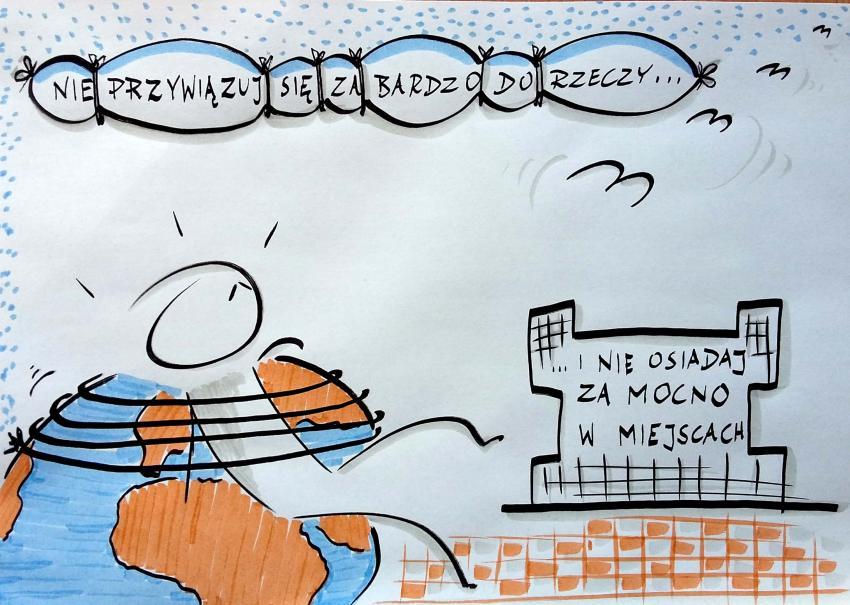 Filozoficzno-rysunkowa galeria Adama Janika