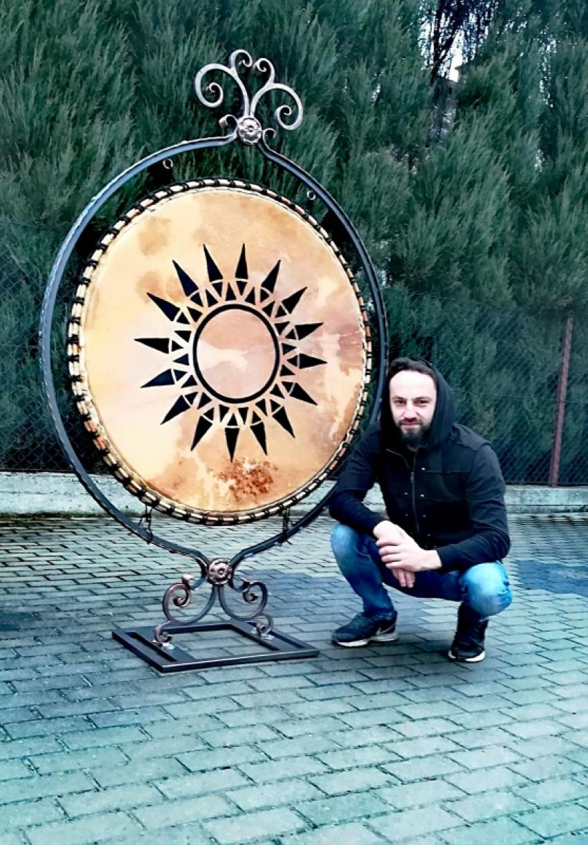 Bębny BOBUL Drums i ich twórca Konrad Bobula