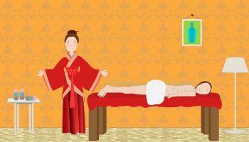 Relaksacyjny masaż pleców