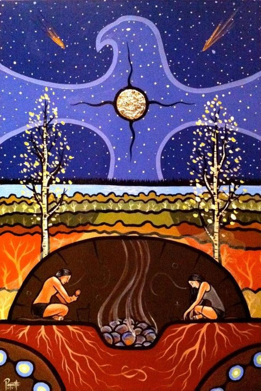 Płynąca z lasami: PIĘKNA APOKALIPSA/Zdjęcie: Pinterest