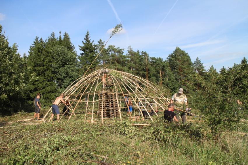 budowa domu kręgu