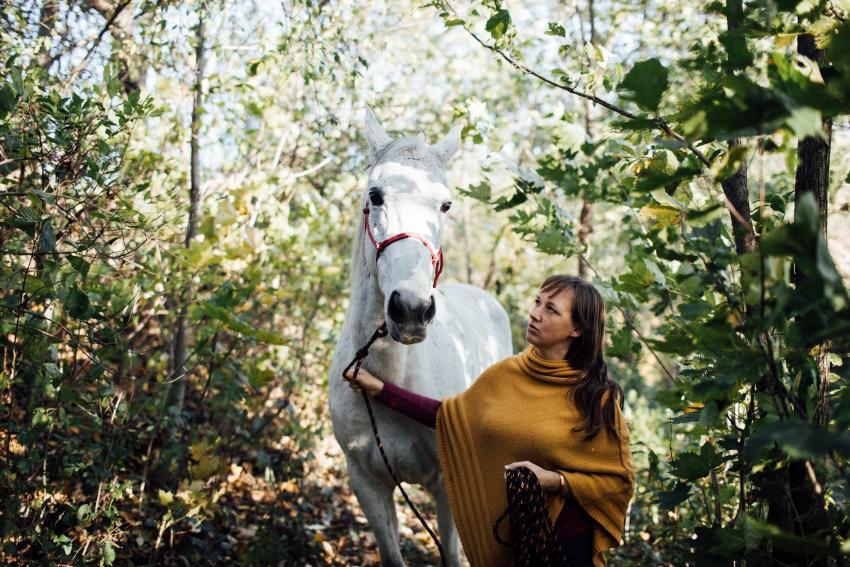 Uważność w kontakcie z koniem 2