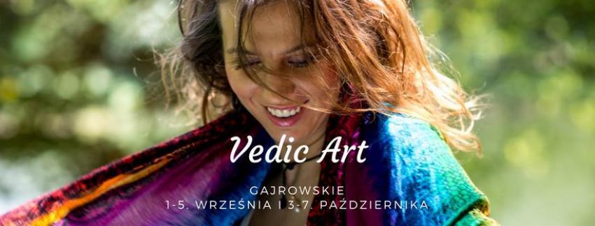 Vedic Art - Rozbudź Koloryt Swojego Życia GAJROWSKIE Mazury