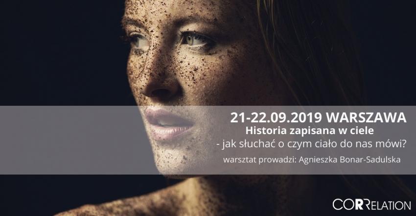 Historia zapisana w ciele-jak słuchać o czym ciało do nas mówi? Warszawa