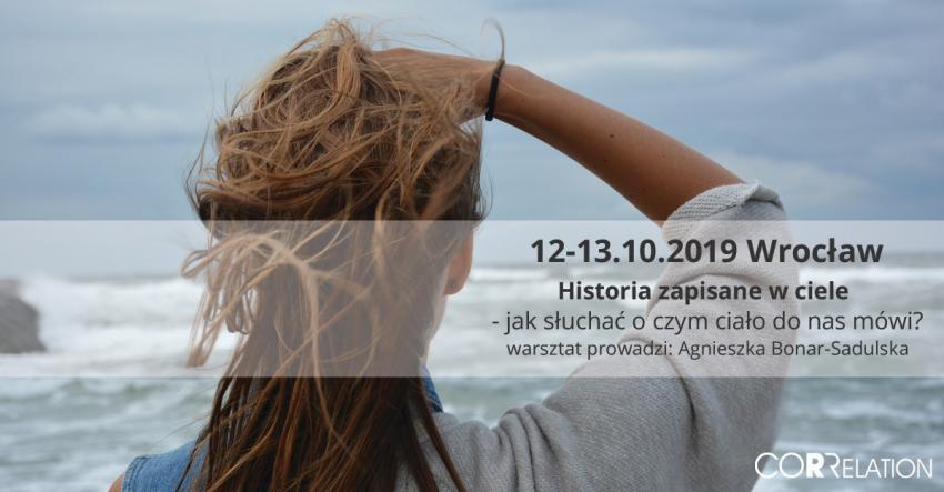 Historia zapisana w ciele - jak słuchać o czym ciało do nas mówi Wrocław X