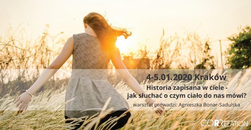 Historia zapisana w ciele-jak słuchać o czym ciało do nas mówi Kraków