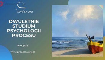 Dwuletnie Studium Psychologii Procesu - Gdańsk 2021