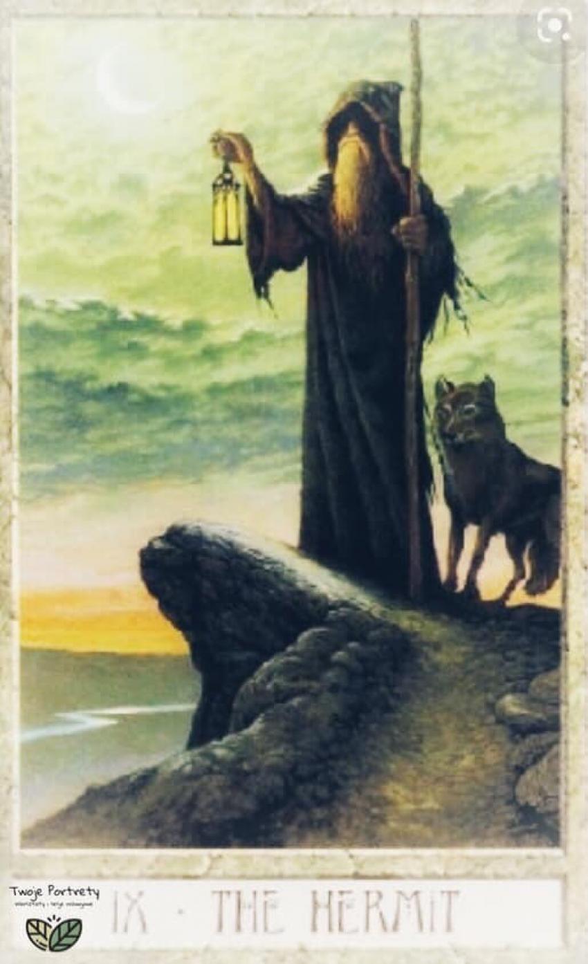 Podróże z Tarotem tam i z powrotem: Mistrz... w życiu i w Tarocie
